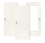 Drei Innentüren des Modelllinie Lucera
