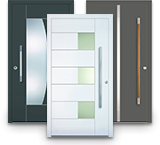 Aluminium-Kunststoff Haustüren