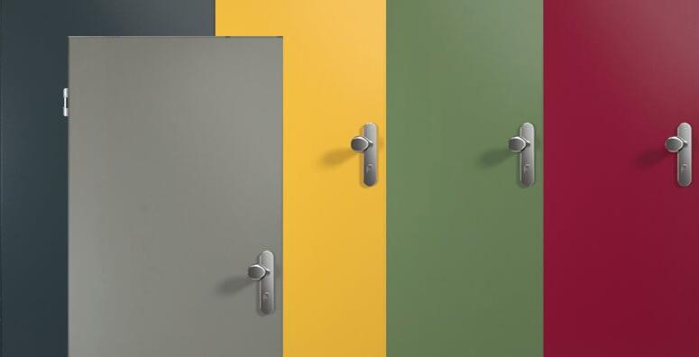 Wohnungseingangstüren mit HPL Oberfläche