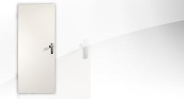 Klassik Weiß HPL Wohnungseingangstür von Westag & Getalit