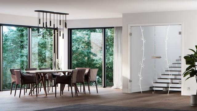 Doppelflügeltür Aus Glas Modell Elida Von Erkelenz
