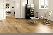 brauner Designboden, Bodenbelag, Fußboden