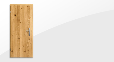 Asteiche Echtholzfurnierte Wohnungseingangstür von Lebo