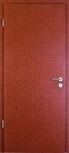 Rot-Braune Ledertür (inkl. Zarge) von Konold
