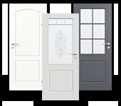 Lackierte Türen der Provence Reihe