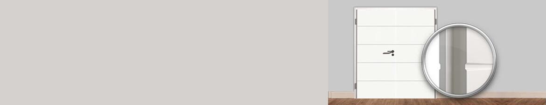 Moderne weiße Doppelflügeltüren online kaufen