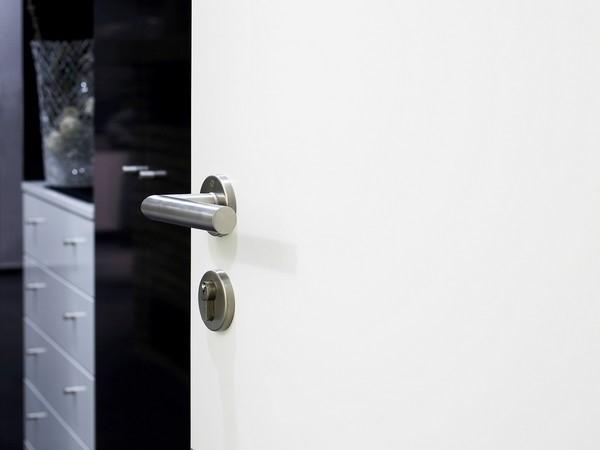 wie antik Türdrücker-Garnitur f Haustür Türbeschlag mit Sicherheits-Rosetten